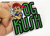Size 8cmX6cm Character Image Hat Patches Iron - On Backing Heat - Cut